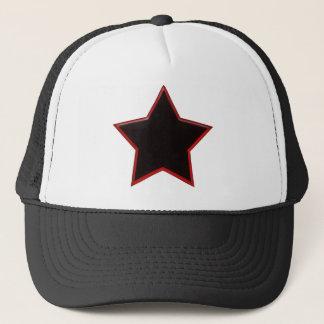 Black Star Trucker Hat