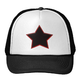 Black Star Trucker Hats