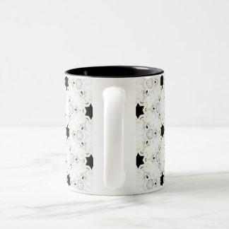 Black Star Two-Tone Coffee Mug