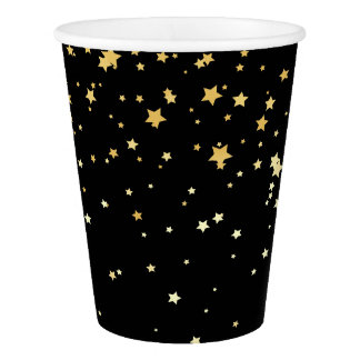 Black Starfall Party Cup