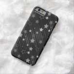 Black Stars Pattern Barely There iPhone 6 Case