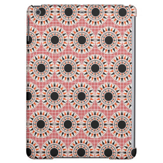 Black stars pattern cover for iPad air