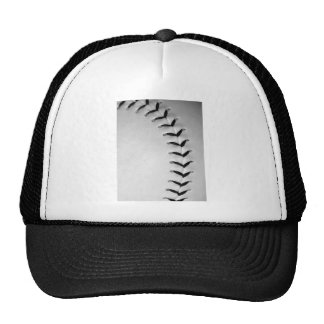 Black Stitches Baseball/Softball Cap