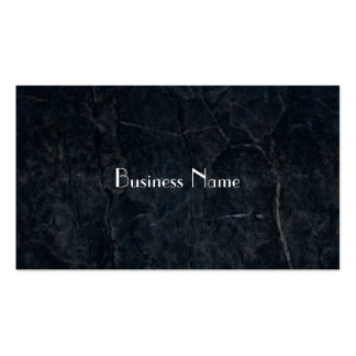 Black Stone Abstract Grunge Texture Elegant Pack Of Standard Business Cards