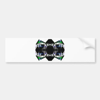 Black Structural Urban Art Form Cricketdiane Bumper Stickers