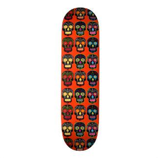Black Sugar Skulls Skateboard Deck