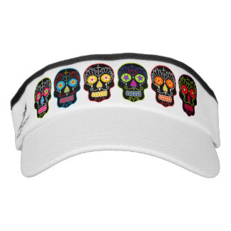 Black Sugar Skulls Visor