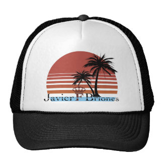 Black Summer Trucker Hat