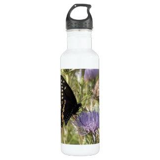 Black Swallowtail Butterfly 710 Ml Water Bottle