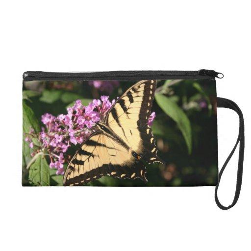 Black Swallowtail Butterfly Bag Wristlets