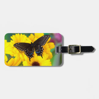 Black Swallowtail butterfly Bag Tags