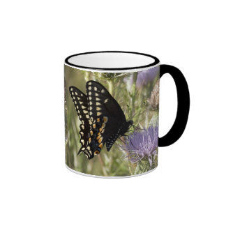 Black Swallowtail Butterfly Coffee Mug