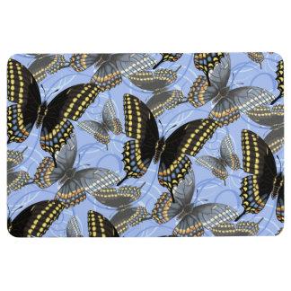 Black Swallowtail Butterfly Floor Mat