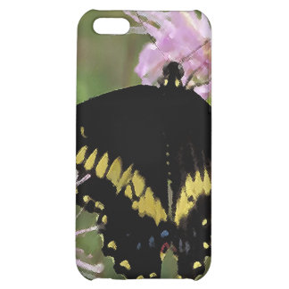 Black Swallowtail Butterfly iPhone 5C Cases