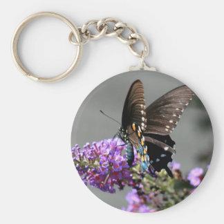 Black Swallowtail Butterfly Key Chain