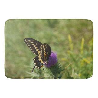 Black Swallowtail Butterfly, Large Bath Mat Bath Mats