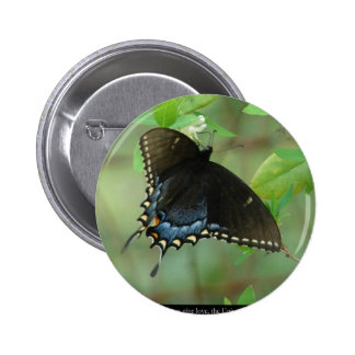 Black Swallowtail Butterfly - Love Gifts & Apparel Pins