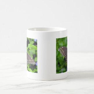 Black Swallowtail Butterfly 11 Oz Magic Heat Color-Changing Coffee Mug