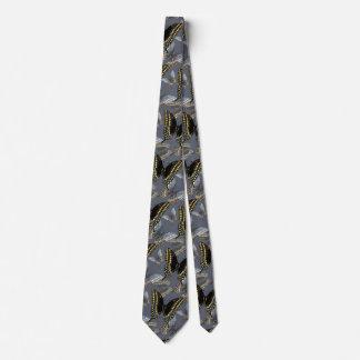 Black Swallowtail Butterfly Tie