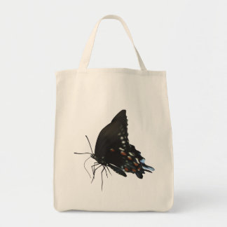 Black Swallowtail Butterfly Grocery Tote Bag