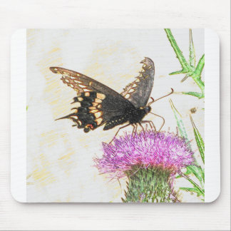 Black Swallowtail mouse pad