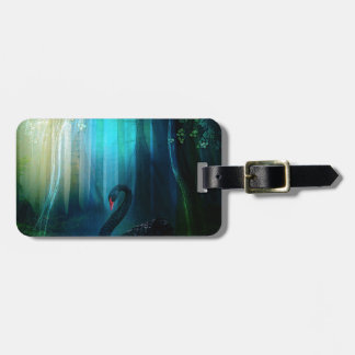 BLACK SWAN LUGGAGE TAG