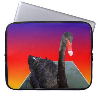 Black_Swan_Rainbow_Popout,_15inch_Laptop_Sleeve Laptop Sleeve