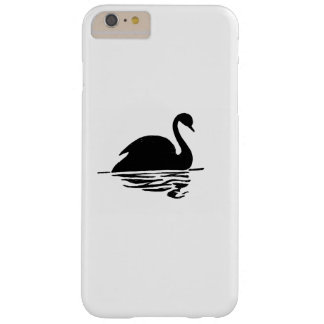 Black Swan Silhouette Barely There iPhone 6 Plus Case