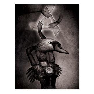 Black Swan Theory Postcard