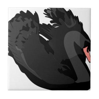 black swan tile