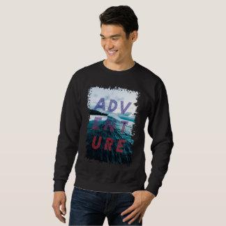 Black sweatshirt adventure