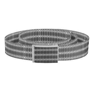 Black Swirls Belt