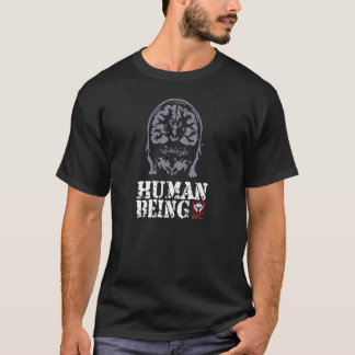 Black T-Shirt Human Being