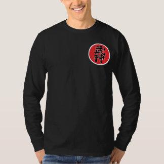 Black t-shirt Long Mango Shidoshi