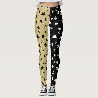 Black & Tan Allstar Leggings
