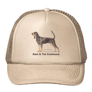 Black & Tan Coonhound Mesh Hats