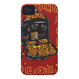 Black & Tan Doxie of the Year Case-Mate iPhone 4 Case