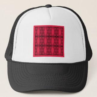 Black tattoo Ornaments wedding Trucker Hat