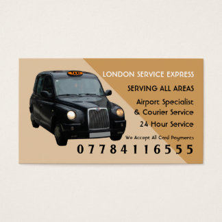 Black Taxi Cab Airport And Station Price Lists