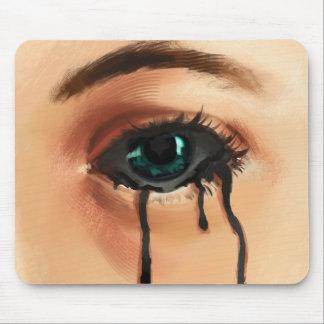 Black Tears Mouse Pad
