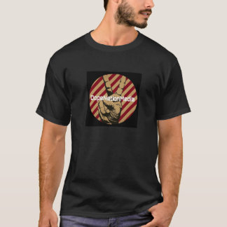 Black tee. DNM logo. T-Shirt