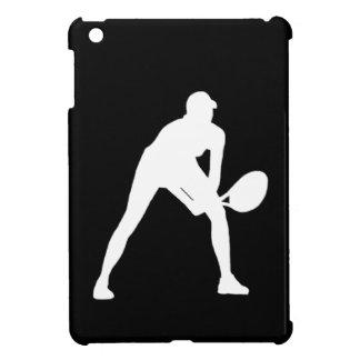 Black Tennis Silhouette iPad Mini Case