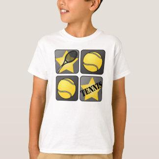 Black Tennis T-Shirt