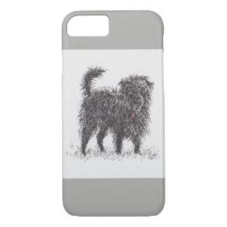 Black Terrier phone case