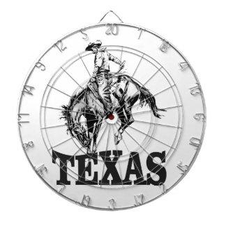 Black Texas Dartboard