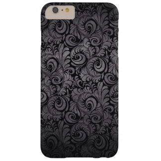 Black texture barely there iPhone 6 plus case