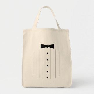Black Tie Tuxedo Tote Bag