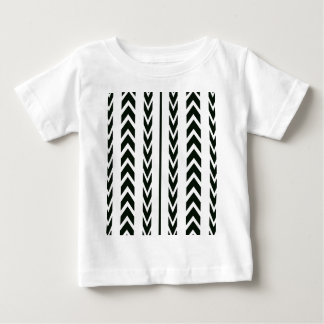 Black Tire Tread Baby T-Shirt