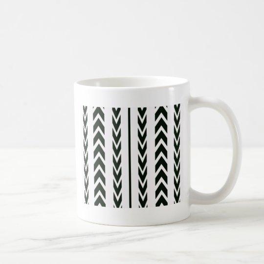 Black Tire Tread Coffee Mug