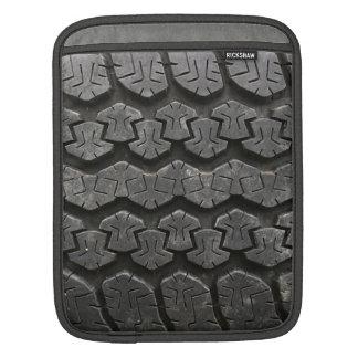 Black Tire Tread iPad Sleeve